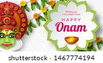 onam festival background for... | Shutterstock .eps vector #1467774194