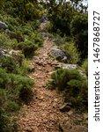 Small photo of Walking in Lycian Way. Lycian Way trekking. Hiking trail in Lycian Way.