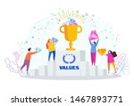 business values concept.... | Shutterstock .eps vector #1467893771