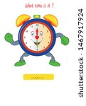 what time is it  game for child.... | Shutterstock .eps vector #1467917924