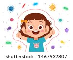 kids immune protection system... | Shutterstock .eps vector #1467932807