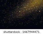 golden lights background.... | Shutterstock .eps vector #1467944471