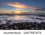 Seascape Of Westward Ho  Beach...