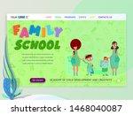 back to school banner   landing ... | Shutterstock .eps vector #1468040087