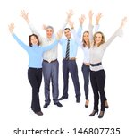 a group of business people | Shutterstock . vector #146807735