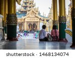 yangon  myanmar   january 5 ... | Shutterstock . vector #1468134074