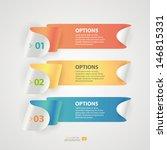 modern infographics colorful... | Shutterstock .eps vector #146815331
