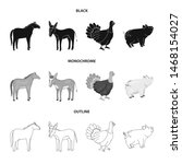 vector illustration of breeding ... | Shutterstock .eps vector #1468154027