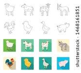 vector illustration of breeding ... | Shutterstock .eps vector #1468161851