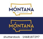 Montana State Map With Nicknam...