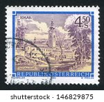 austria   circa 1984  stamp... | Shutterstock . vector #146829875