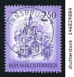 austria   circa 1974  stamp... | Shutterstock . vector #146829884
