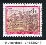 austria   circa 1988  stamp... | Shutterstock . vector #146830247
