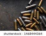 Ammo.ammunition on dark...
