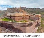 Aerial View Of Ishak Pasha...