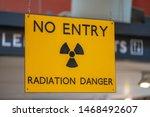 Yellow Radiation Warning And...