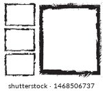 abstract grunge border frames... | Shutterstock .eps vector #1468506737