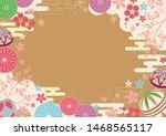 beautiful japanese style...   Shutterstock .eps vector #1468565117