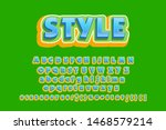 retro font 90's  80's with...   Shutterstock .eps vector #1468579214