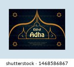 islamic eid ul adha eid... | Shutterstock .eps vector #1468586867
