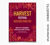 Harvest Festival Flyer Or...