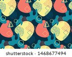 vector abstract background... | Shutterstock .eps vector #1468677494