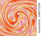 twirl paint 70s retro colors... | Shutterstock .eps vector #1468771334