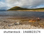View Of Loch Glascarnoch In Th...