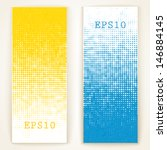 set of banners. vector... | Shutterstock .eps vector #146884145