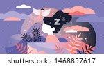 lucid dreaming vector... | Shutterstock .eps vector #1468857617