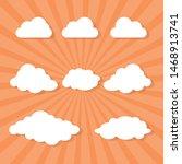 vector illustration of cloud...