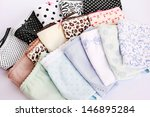colorful panties close up... | Shutterstock . vector #146895284