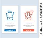 tube  flask  lab  test  blue... | Shutterstock .eps vector #1468980014
