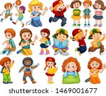 kids in large group acting our...   Shutterstock .eps vector #1469001677