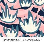 vector nature seamless pattern...   Shutterstock .eps vector #1469063237