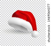 santa claus hat isolated on... | Shutterstock .eps vector #1469064377