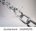 chain breaking | Shutterstock . vector #146909255