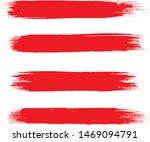 brush stroke set isolated on... | Shutterstock .eps vector #1469094791
