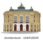 public warsaw school of... | Shutterstock .eps vector #146910035