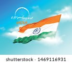 happy independence day india ... | Shutterstock .eps vector #1469116931