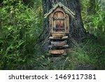 Fairytale Forest House. Little...