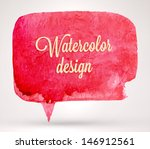abstract aquarelle background.... | Shutterstock .eps vector #146912561