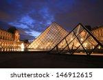 paris   sep 24   night view of... | Shutterstock . vector #146912615
