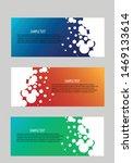 banner background modern... | Shutterstock .eps vector #1469133614