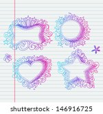 doodle banners for sale in e... | Shutterstock .eps vector #146916725