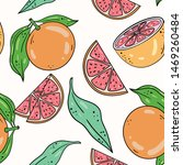 vector seamless pattern with... | Shutterstock .eps vector #1469260484