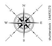vector wind rose compass... | Shutterstock .eps vector #14693173