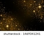 the dust sparks and golden... | Shutterstock .eps vector #1469341241
