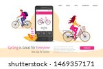 web page template for healthy... | Shutterstock .eps vector #1469357171