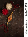 raksha bandhan background with... | Shutterstock . vector #1469409974